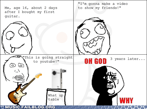 comic guitar learning rage comic - 6154092032