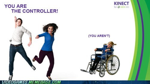 Ad kinect microsoft Sad wheelchair xbox - 6154106368