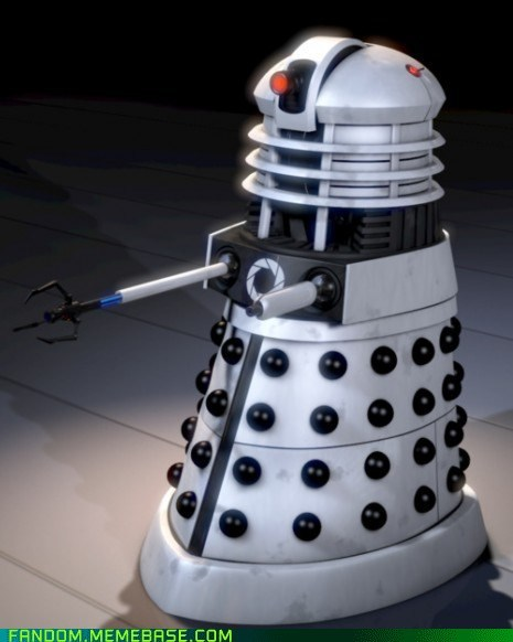 best of week,crossover,dalek,doctor who,Fan Art,Portal,video games