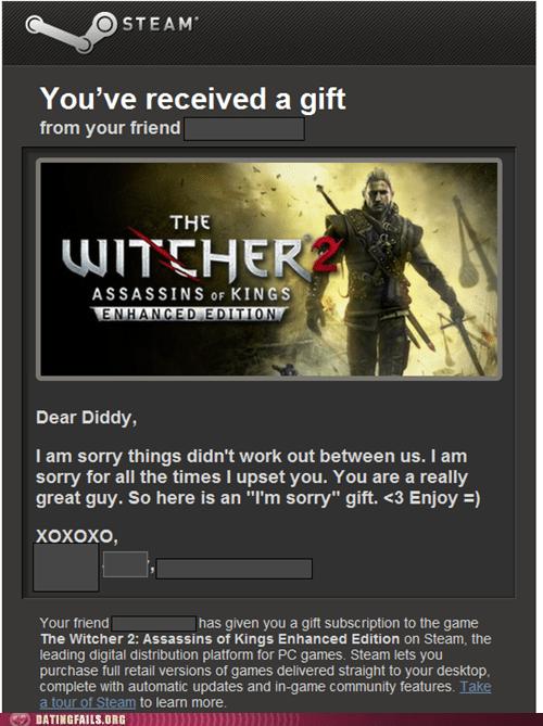 breakups ex girlfriends gifts Videogames - 6154468096
