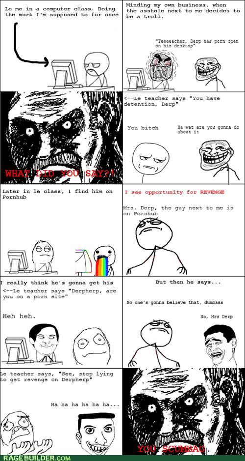 all that racket pr0ntimes Rage Comics truancy story - 6154725888