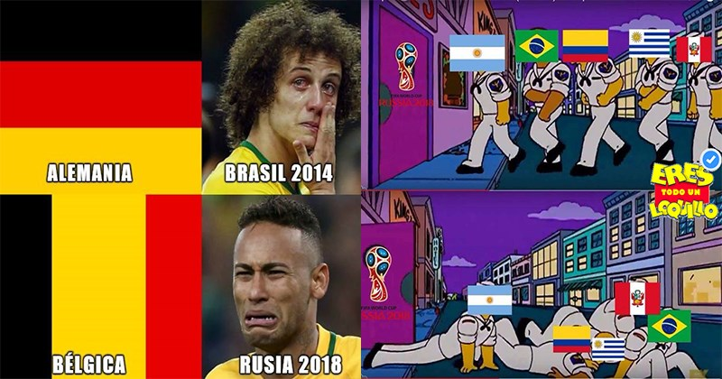 eliminacion brasil rusia 2018