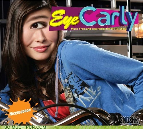 carly,double meaning,eye,homophone,iCarly,literalism,shoop