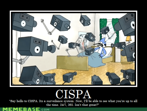 cispa,regular show,very demotivational,we are watching