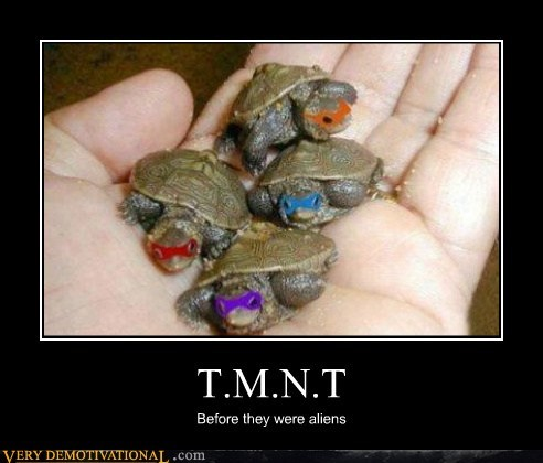 Aliens idiots Michael Bay TMNT - 6155072000
