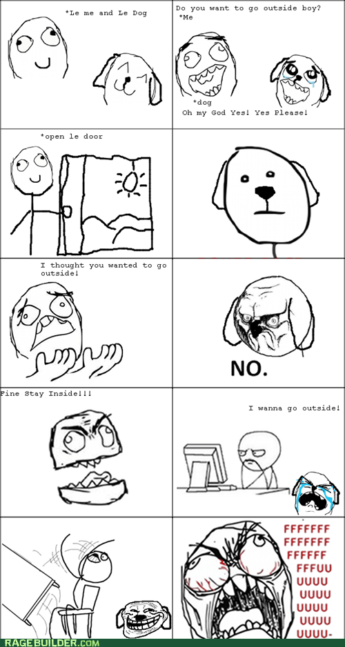 dogs no Rage Comics troll - 6155108864