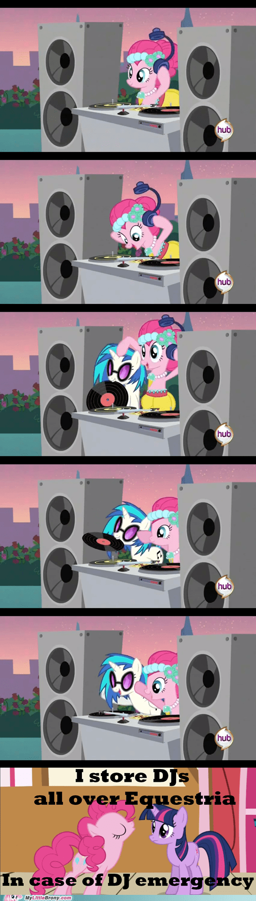 comics,dj PON-3,emergency,ending,Music,pinkie pie,season 2