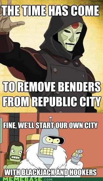 airbender Avatar bender futurama Memes - 6155237632