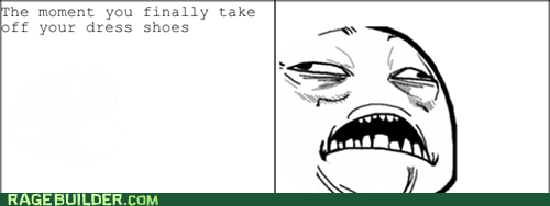 dress shoes,Rage Comics,sweet jesus have mercy,that feel