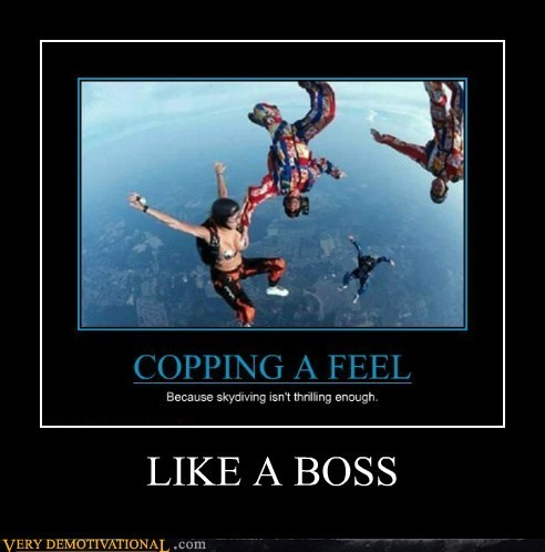 hilarious,Like a Boss,sky diving,wtf