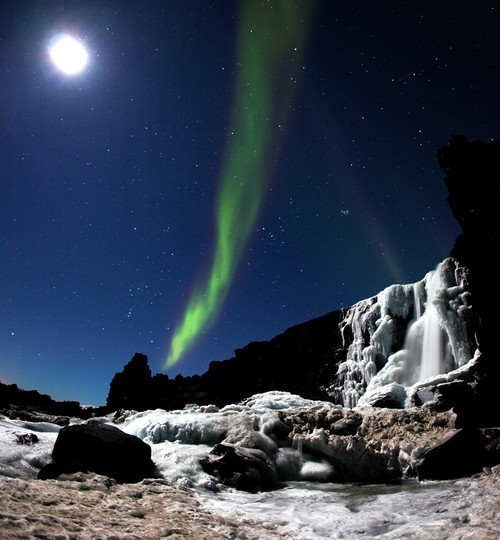 aurora borealis,Hall of Fame,Iceland,northern lights