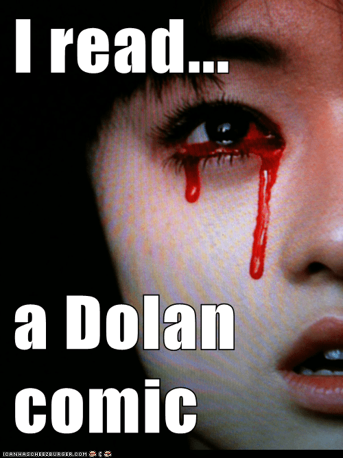 bleeding eyes dolan emolulz First World Problems - 6155525376