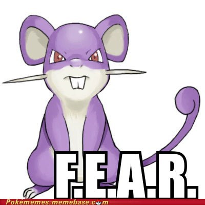 Battle f.e.a.r fear rattata - 6155966720