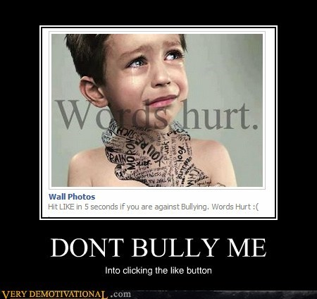 bullying facbook kids like Mean People words - 6156177408