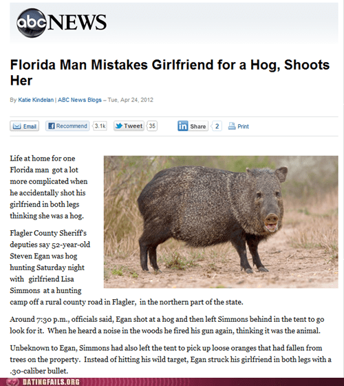 abc news girlfriends hogs not the same - 6156355072