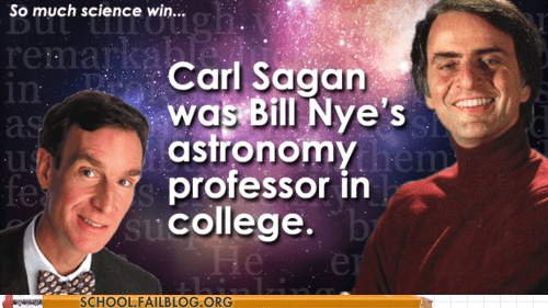 bill nye carl sagan Professors science win - 6156472064