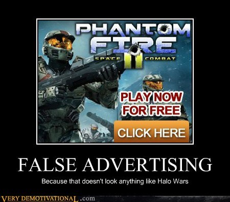 false advertising halo wars hilarious wtf - 6156615424