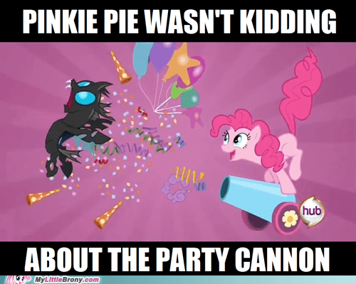 fight party cannon pinkie pie TV - 6156663552