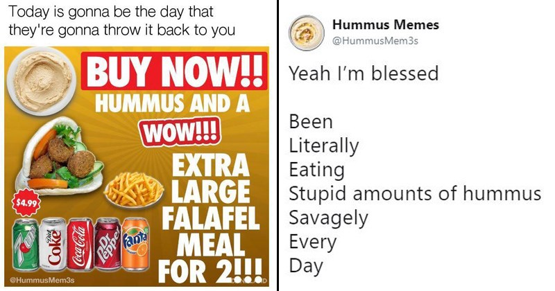 hummus memes stupid memes the best snack middle eastern food falafel pointless memes delicious food hummus puns hummus - 6156805