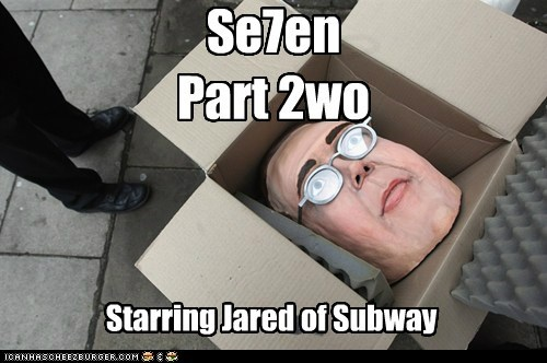 Jared movies political pictures seven Subway - 6157104384