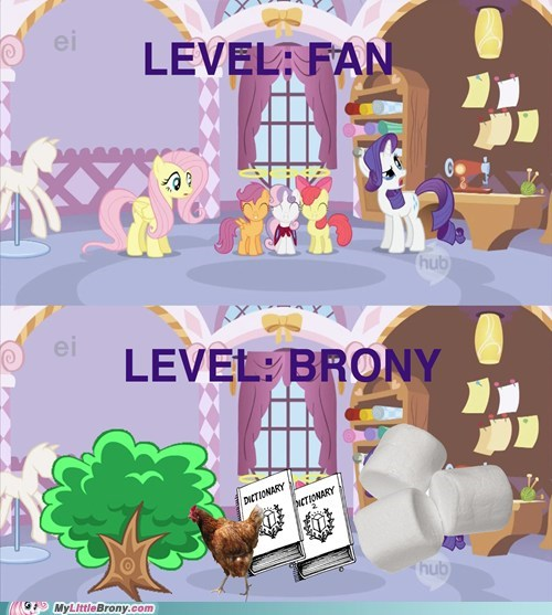 Bronies casual fans fans meme my little pony - 6157170688