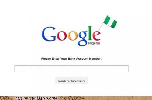 credit card,google,nigeria,trolling