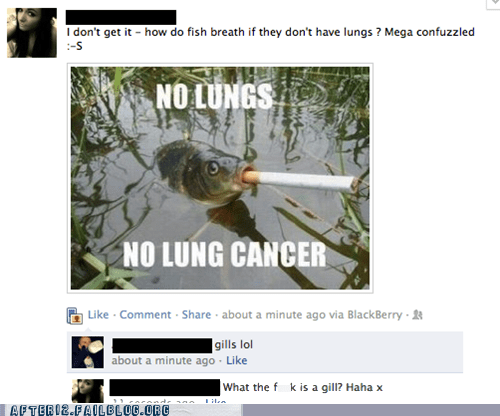 cancer cigarettes confuzzled failbook fish lungs