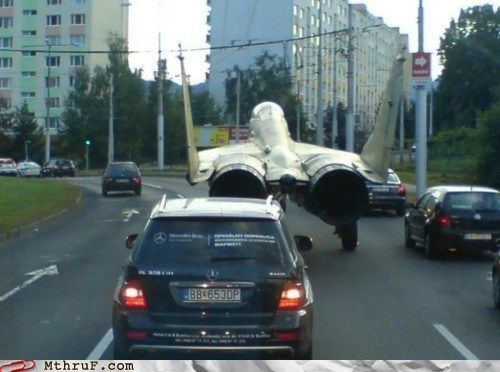 commute,fighter jet,Harrier jet,mercedes,russia