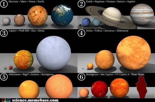Astronomy,planets,size,stars,yourmom