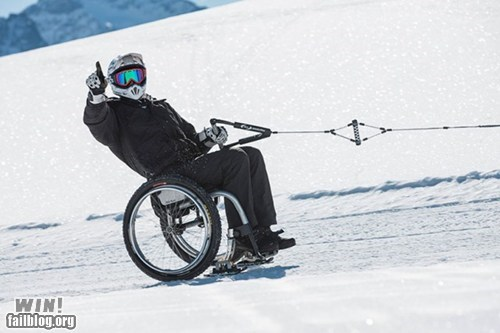 disabled skiing whee wheel chair - 6157658624