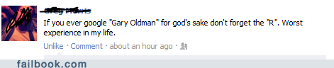 Gary Oldman,old men,typos,failbook