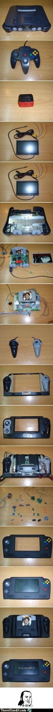 console n64 nintendo nintendo 64 portable - 6157738752