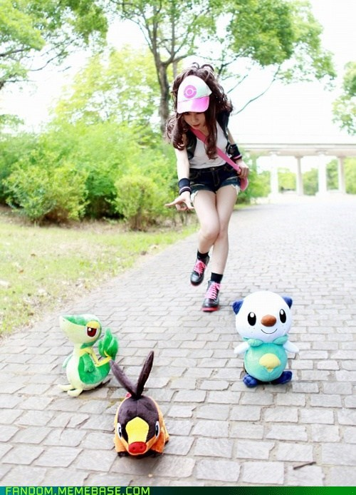cosplay,fifth gen,oshawott,Pokémon