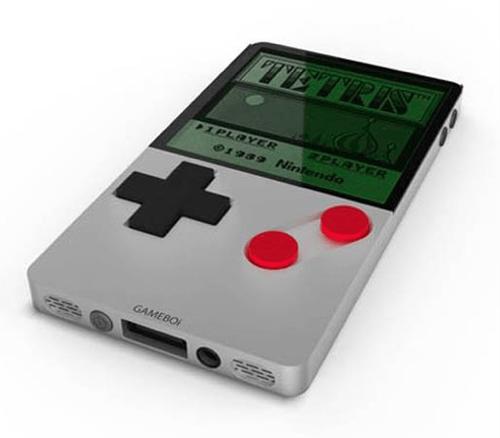 game boy,gameboi,iphone 4,mashup,redesign,video games