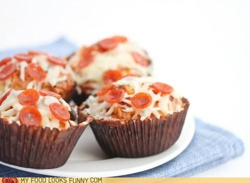 cheese cupcake muffin pepperoni pizza - 6157957888