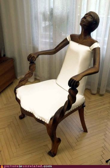 chair furniture lady wtf - 6157987328