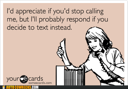 calling,ecards,text me