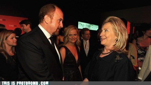 Amy Poehler Celebrity Edition celeb Hillary Clinton louis ck