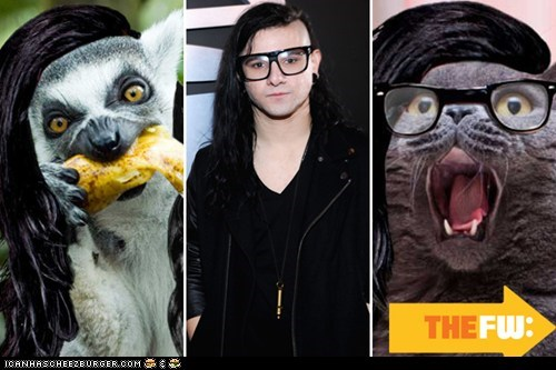 around the interwebs,hair,skrillex,the fw