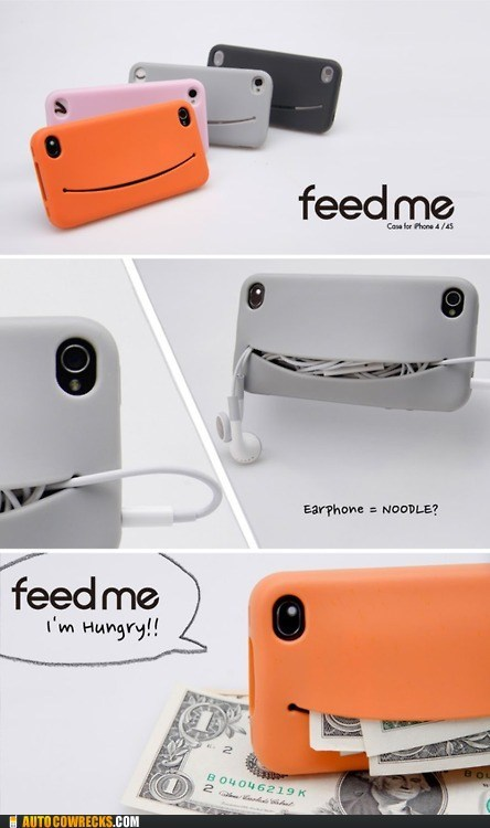 accessories feed me phone swag take my money - 6158374912