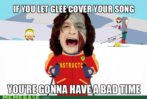 a bad time,cover,glee,gotye,Memes,somebody that i used to know