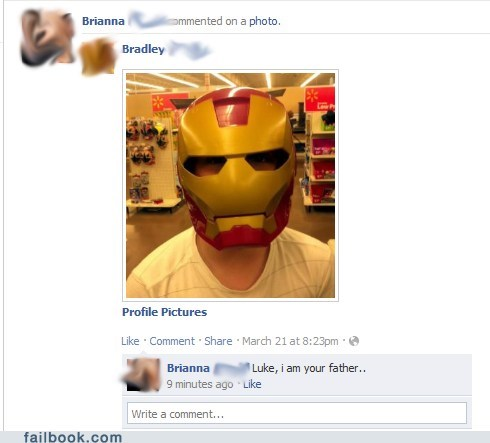 nerd rage,star wars,iron man,failbook,g rated
