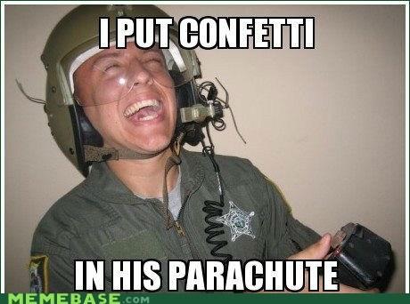 confetti edward Memes parachute sparkly trolling twilight - 6159200000