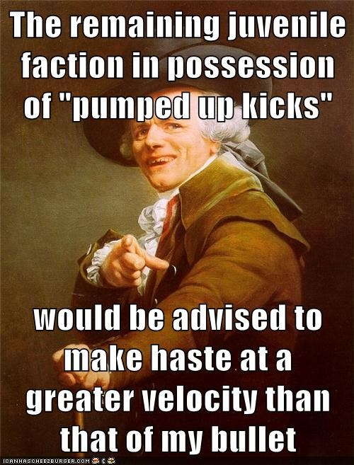 Foster the People Joseph Ducreux pumped up kicks - 6159347968