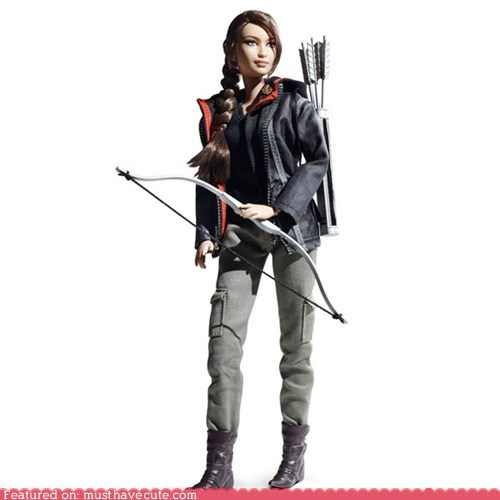 Barbie doll hunger games katniss everdeen - 6159472128