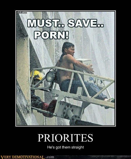 computer,fire department,hilarious,pr0n,priorities