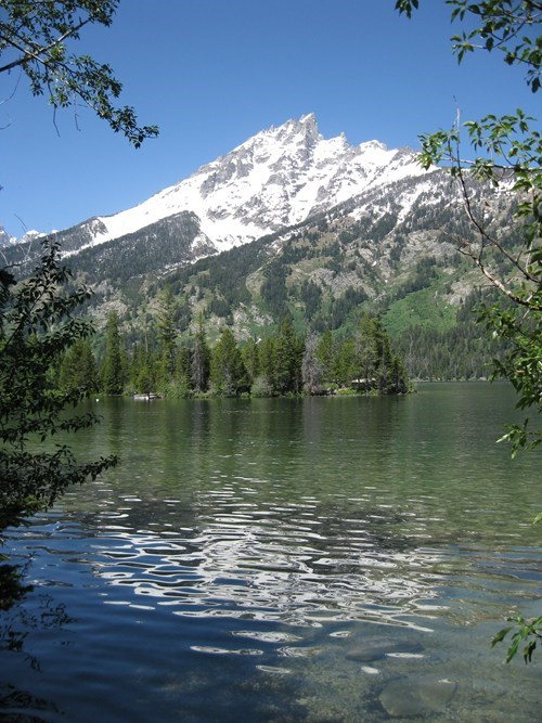 lake,mountain,national park,Wyoming