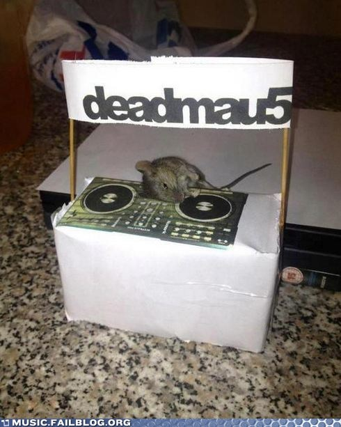 Deadmau5,electronic,house,literal,sleeping