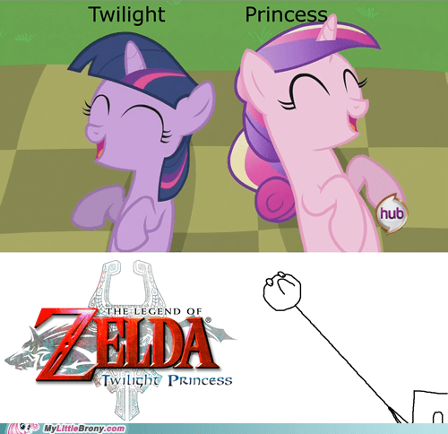 cadance,comics,twilight princess,twilight sparkle,zelda