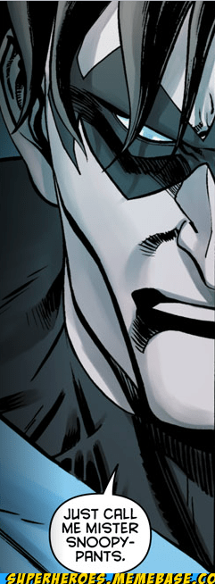 bad name nightwing snoop Straight off the Page wtf - 6160653568